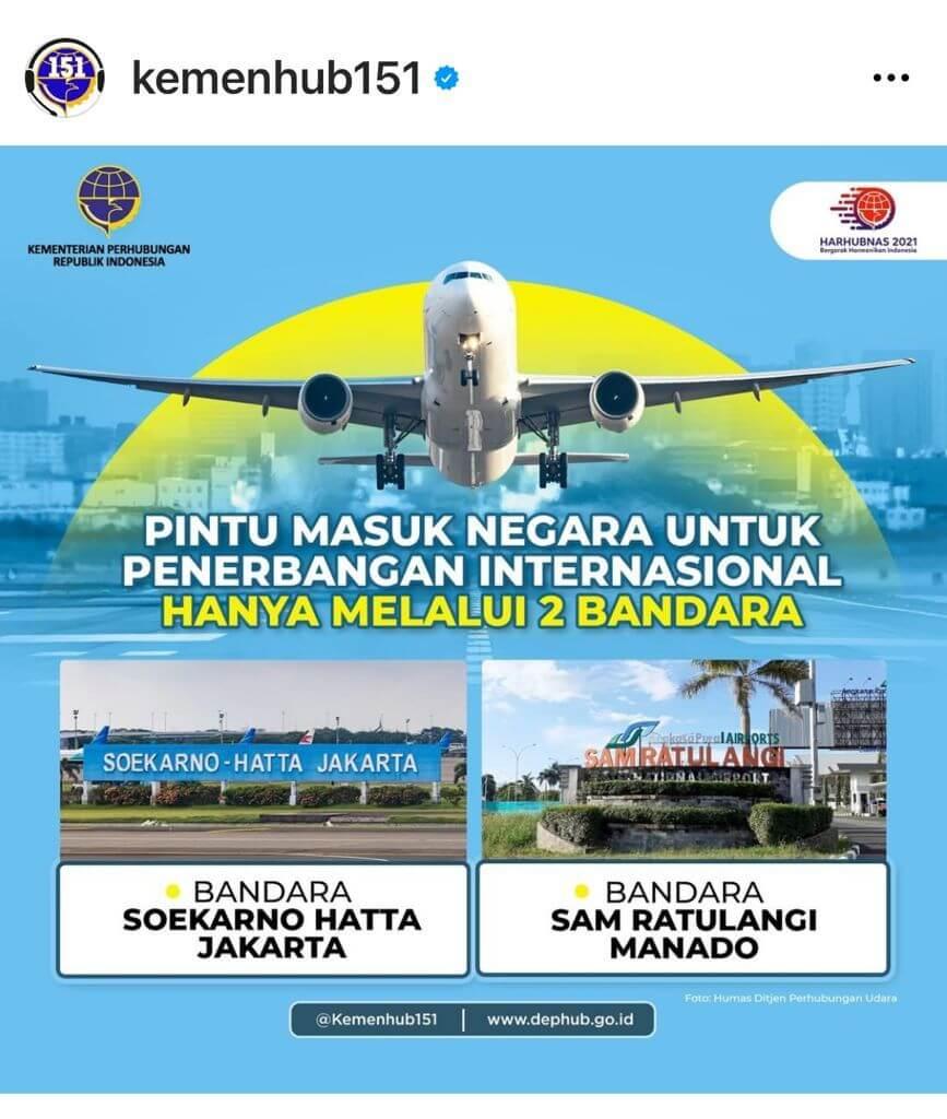 Pintu Masuk Internasional Indonesia